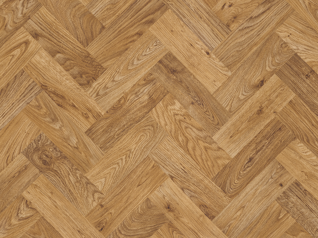 Коммерческий линолеум Polyflor Designatex PUR 2137 English Oak Parquet
