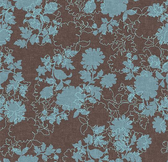 Ковровое покрытие Forbo Flotex Floral Silhouette 650007