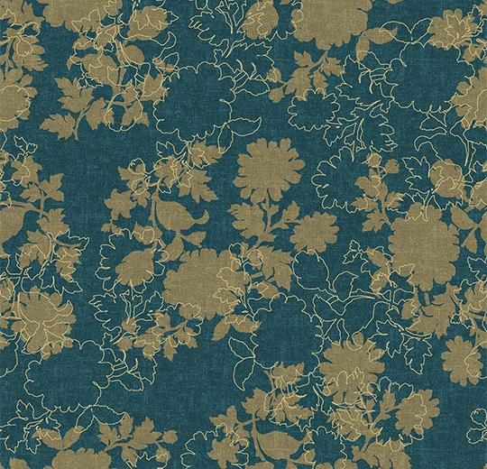 Ковровое покрытие Forbo Flotex Floral Silhouette 650009