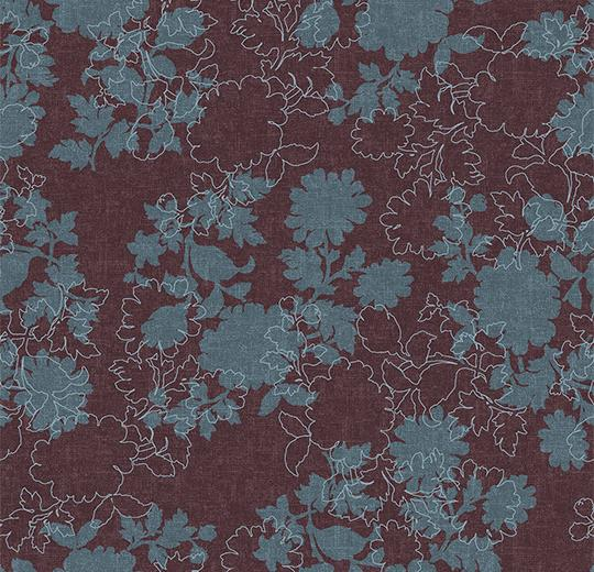 Ковровое покрытие Forbo Flotex Floral Silhouette 650012